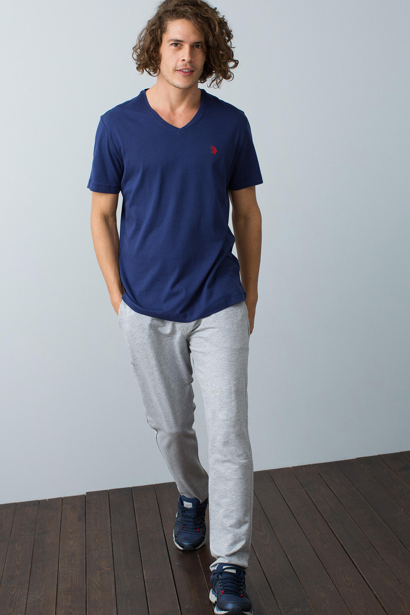 Брюки мужские U.S. Polo Assn., цвет: серый. G081SZ0OP0OLEGIY8_VR086. Размер XL (52)