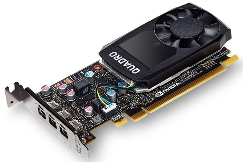 PNY NVIDIA Quadro P400 2GB видеокарта (VCQP400DVI-PB) видеокарта пк hp graphics card nvidia quadro k620 2gb j3g87aa j3g87aa