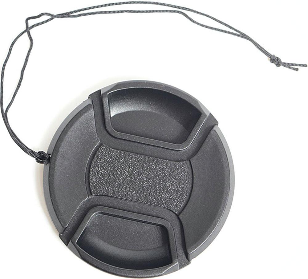 Fujimi FJLC-F49, Black крышка для объективов (49 мм)FJLC-F49Fujimi FJLC-F49 - крышка для объектива с центральной фиксацией (49 мм). Благодаря центральной фиксации данную крышку очень легко и удобно использовать с блендами. Комплектуется удобным шнурком для защиты крышки от потерь.