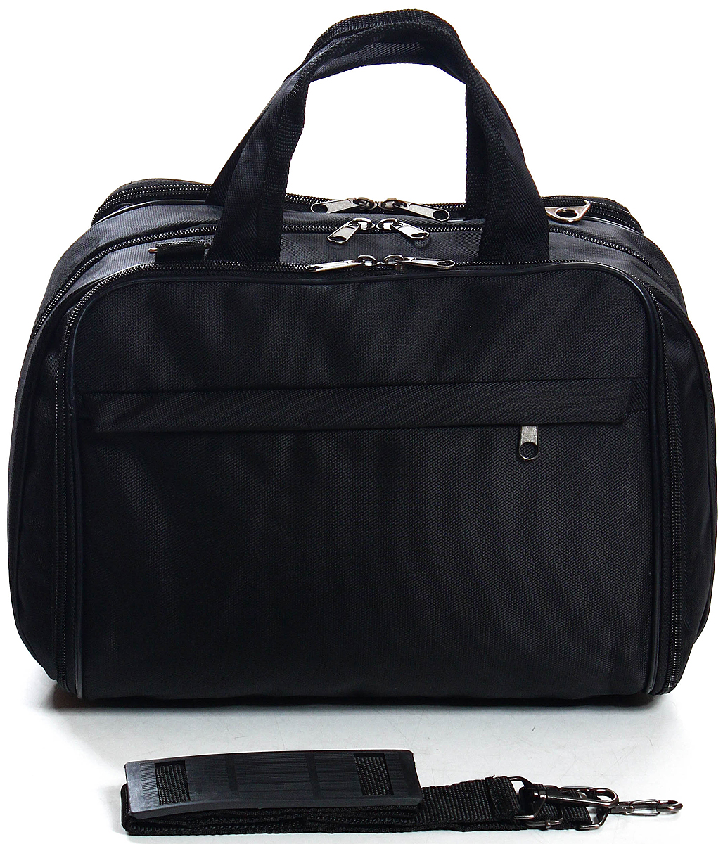 Сумка дорожная Ibag, цвет: черный, 16 л5201 ЧерныйКомпактный и стильный саквояж, идеально подойдет как для повседневной носки, так и для не длительных поездок, когда вещей с собой по минимуму.