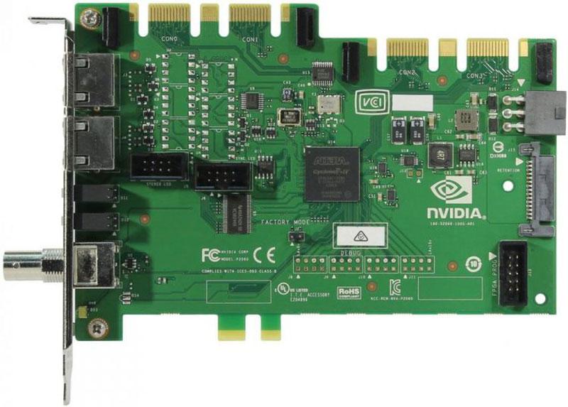 PNY Quadro Kepler Sync видеокарта (VCQPQUADROSYNC2-PB)