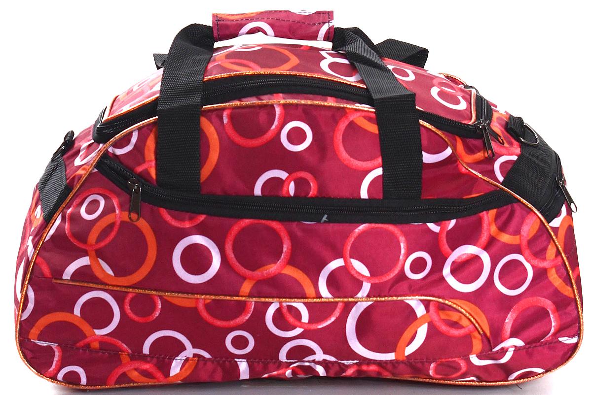 Сумка дорожно-спортивная Ibag, цвет: красный, 30 л