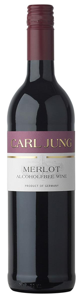 Carl Jung Мерло Вино красное безалкогольное, 750 мл