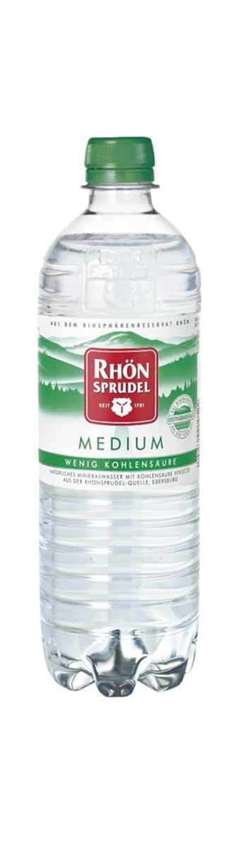 Rhoen Sprudel Вода минеральная природная столовая слабогазированная, 0,75 л evian вода минеральная evian без газа 1 5 л