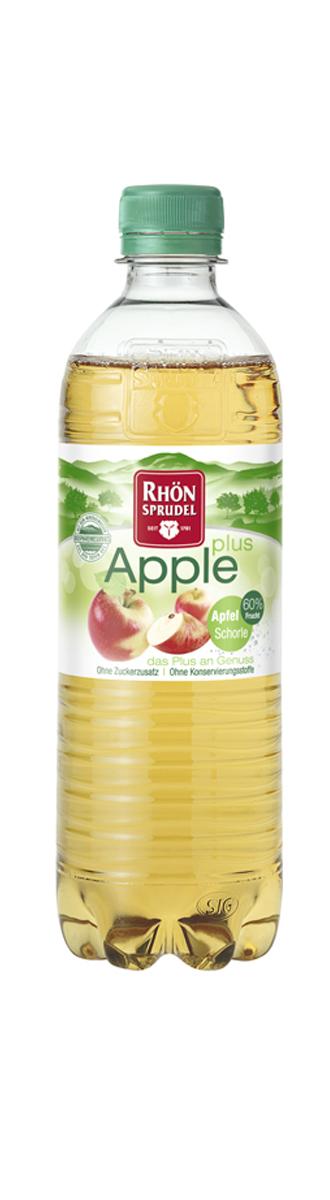 Apple Plus Напиток с яблочным соком безалкогольный газированный, 0,75 л king island кокосовая вода без сахара 1 л