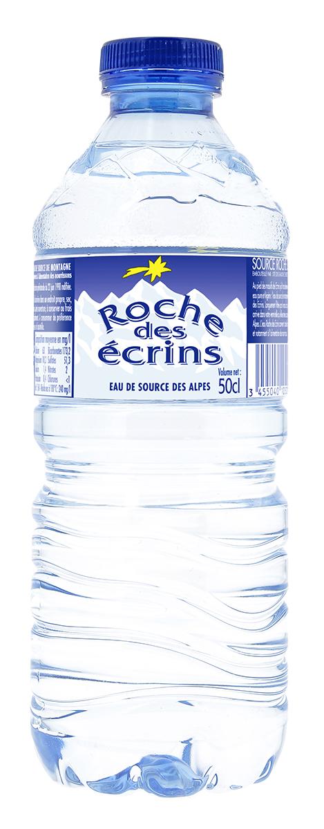 Roche des ecrins Вода минеральная природная питьевая столовая негазированная, 0,5 л ledenev вода питьевая негазированная 5 л