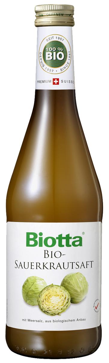 Biotta Сок прямого отжима из квашеной капусты с морской солью БИО, 0,5 л все о выращивании капусты