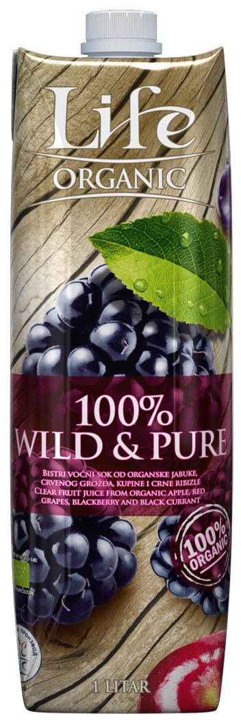 Life Wild & Pure Сок мультифруктовый БИО, 1 л пудовъ капли шоколадные для плавления белые 90 г