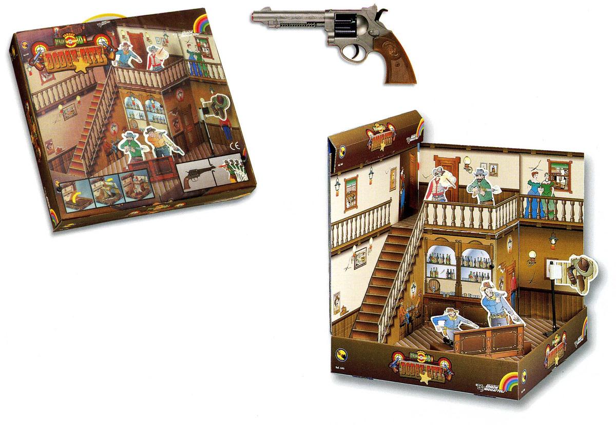 Edison Набор игрушечного оружия Револьвер и мишени Dodge Sity edison edison ружье бизон 66 см