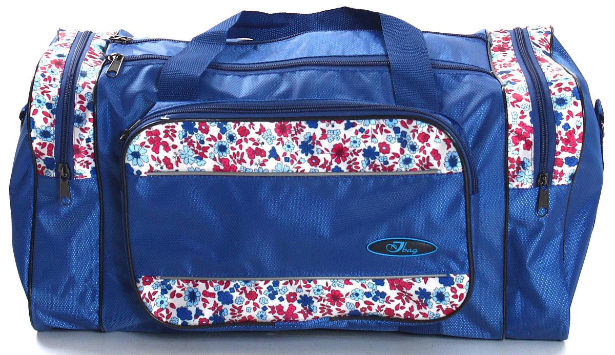 Сумка дорожно-спортивная Ibag, цвет: синий, 34 л сумка дорожно спортивная ibag цвет хаки серый 63 л 6403 10