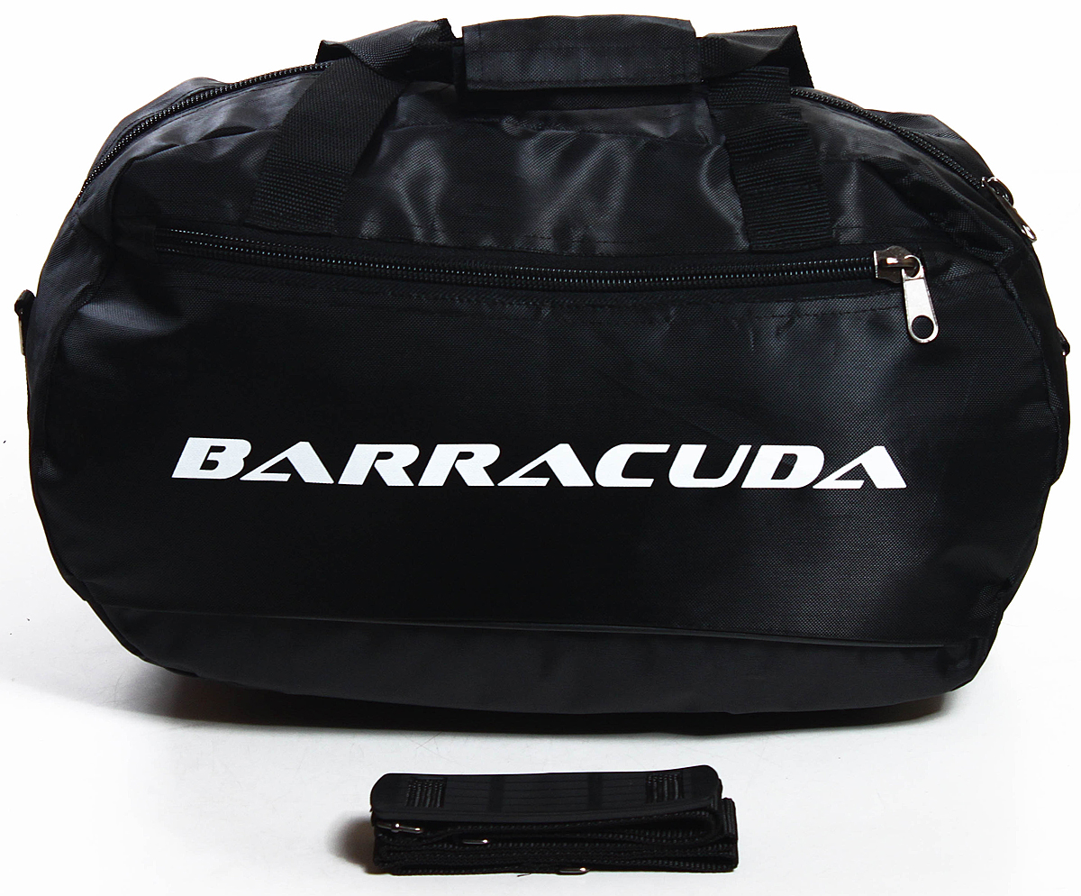 Сумка дорожно-спортивная Ibag, цвет: черный, 19 л