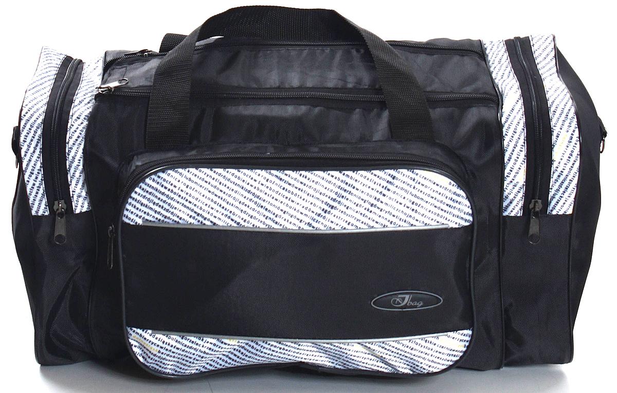 Сумка дорожно-спортивная Ibag, цвет: черный, 34 л сумка дорожно спортивная ibag цвет хаки серый 63 л 6403 10