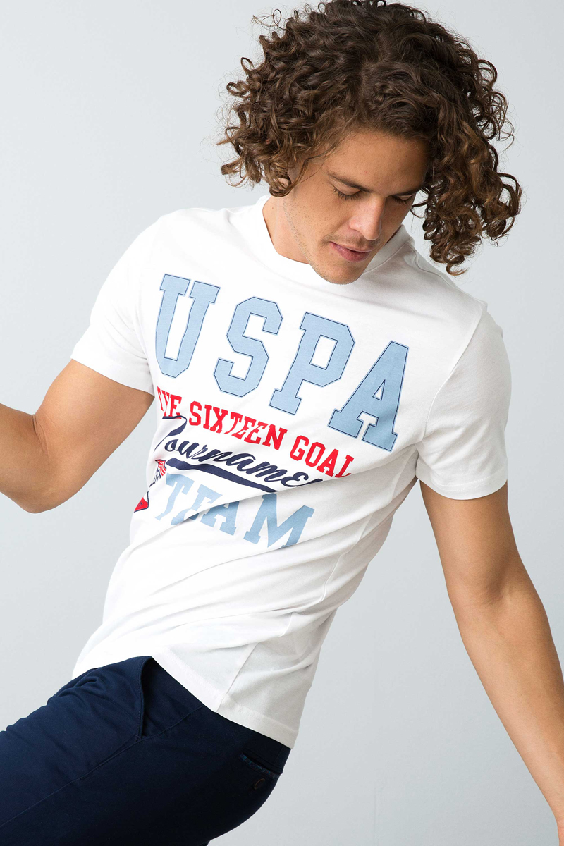 Футболка мужская U.S. Polo Assn., цвет: белый. G081GL0110TIRHALA_VR013. Размер XS (44) футболка мужская u s polo assn цвет белый g081gl0110tirhala vr013 размер xs 44 page 6