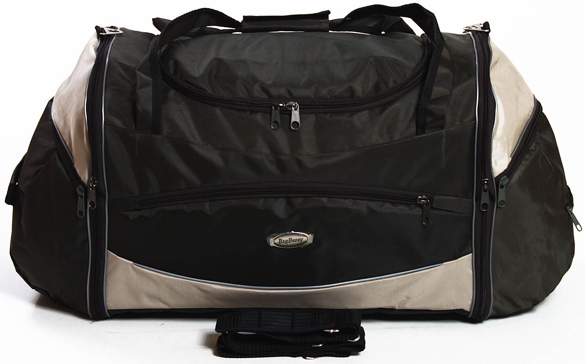 Сумка дорожно-спортивная Ibag, цвет: черный, 79 л сумки для детей spiegelburg спортивная сумка captn sharky 30480