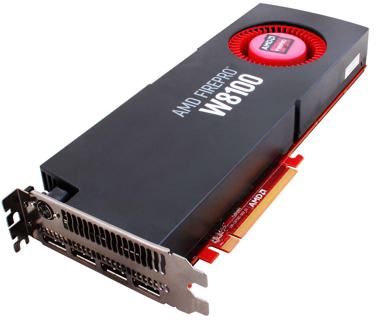 Sapphire AMD FirePro W8100 8GB видеокарта (100-505738/100-505976 AM)