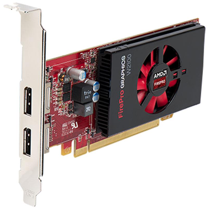 Sapphire FirePro W2100 2GB видеокарта (100-505821)100-505821 AMПрофессиональная видеокарта Sapphire FirePro W2100 сертифицирована для работы с более 100 различныхприложений, включая наиболее распространенные приложения для проектирования и дизайна,мультимедийные и развлекательные приложения, и повышает их надежность и производительность.В видеокарте Sapphire FirePro W2100 реализована архитектура AMD Graphics Core Next (GCN), позволяющаяодинаково свободно и эффективно работать с вычислениями и 3D-графикой.Благодаря 2 ГБ памяти DDR3, видеокарта W2100 ускоряет работу приложений и легко выполняет сложныевычисления нижнего и среднего уровня.Видеокарта Sapphire FirePro W2100 поддерживает уникальные технологии мониторинга и управленияэнергопотреблением, благодаря чему ее максимальное энергопотребление составляет всего 26 ватт.Технология AMD PowerTune динамически оптимизирует потребление энергии графическим процессором, атехнология AMD ZeroCore Power существенно уменьшает потребление энергии при простоях.