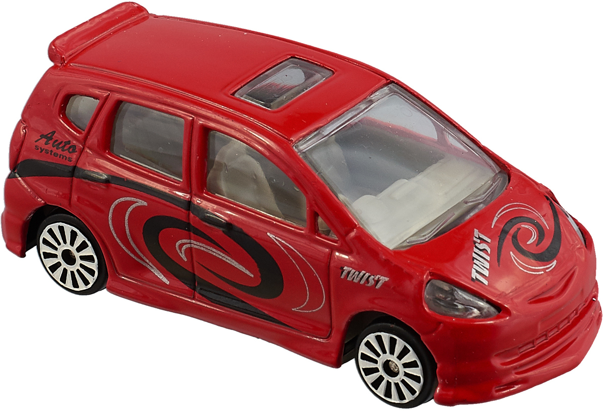 Pioneer Toys Машинка Street Machine Twist цвет красный