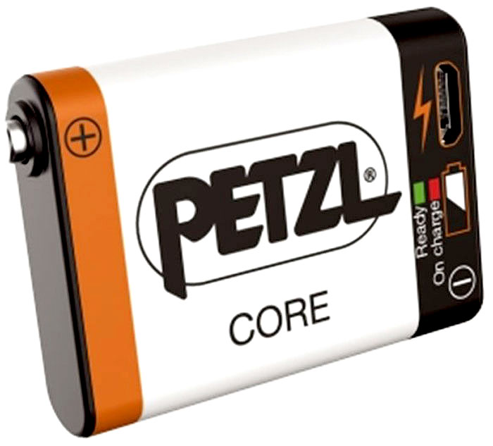 Аккумулятор для фонаря Petzl Accu Core , 1250 мАч, USB разъем, цвет: белый