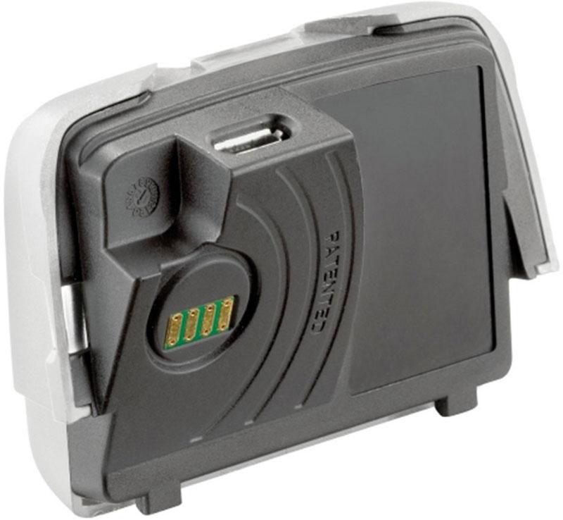 Аккумулятор для фонаря Petzl Reactik, 1800 мАч, USB разъем, цвет: черный