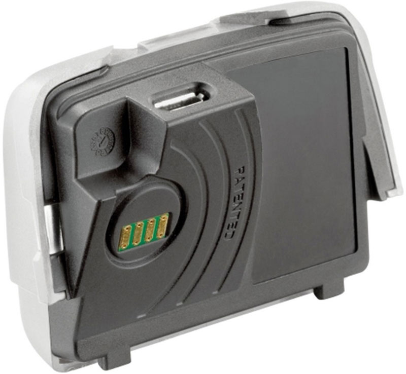 Фото - Аккумулятор для фонаря Petzl Reactik, 1800 мАч, USB разъем, цвет: черный аккумулятор