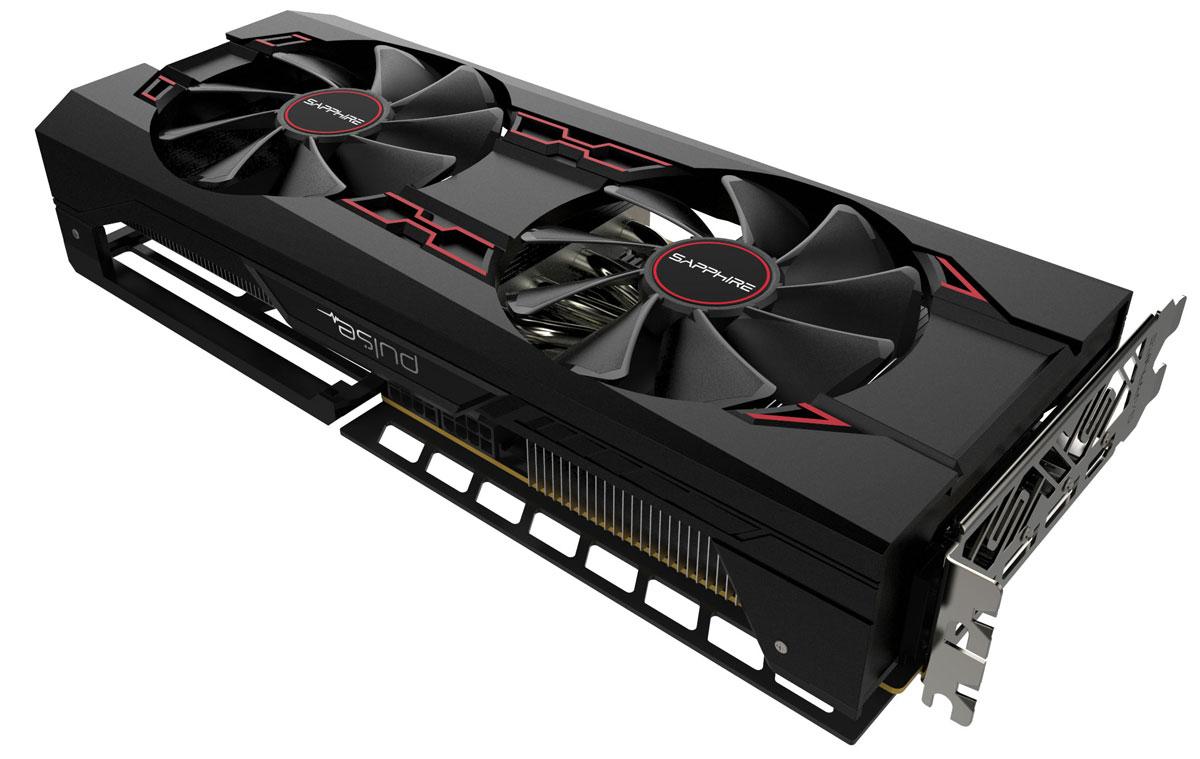 Sapphire PULSE Radeon RX Vega 56 8GB видеокарта (11276-02-40G)11276-02-40GГрафическая карта Sapphire PULSE Radeon RX Vega 56 разработана специально для экстремальных геймеров,кто стремится к высочайшей производительности в играх на максимальных разрешениях с самым высоким FPS,поддержкой передовых технологий и заделом на будущее.Вентиляторы, применяющиеся в видеокартах Sapphire PULSE Radeon RX Vega 56 , поддерживают систему QuickConnect. Это значит, что их можно с легкостью снять, очистить и заменить, поскольку они надежно фиксируютсявсего одним винтом, и разбирать кожух или иные элементы видеокарты не потребуется.Фирменное охлаждение Dual-X от Sapphire - это два тихих вентилятора увеличенного размера и современныйрадиатор. Новая форма лопастей 95-миллиметровых вентиляторов позволяет обеспечить более эффективнуюциркуляцию воздуха и уменьшить уровень шума по сравнению с предыдущими моделями.Вентиляторы оснащены двойными шарикоподшипниками, которые имеют на 85% больший ресурс по сравнению свентиляторами на подшипниках скольжения. Усовершенствованная форма лопастей позволяет уменьшить шум на10% по сравнению с вентиляторами предыдущего поколения.Технология Frame Rate Target Control (FRTC) позволяет настраивать количество кадров в секунду в реальномвремени. Эта функция уменьшает потребление графического процессора (полезно для игр, в которых частотакадров намного превышает частоту обновления дисплея), соответственно уменьшая тепловыделение и оборотывентилятора, что дополнительно уменьшает шум видеокарты.Технология AMD FreeSync позволяет совместимым видеокарте и монитору динамически менять FPS длядостижения идеальной картинки.HBM – новый тип микросхем памяти с низким энергопотреблением, сверхширокой пропускной способностью иреволюционной компоновкой. Вертикальная компоновка и быстрая передача информации, присущие памяти свысокой пропускной способностью, обеспечивают инновационным форм-факторам поистине высокуюпроизводительность. Применение с видеокартами всего лишь начало 