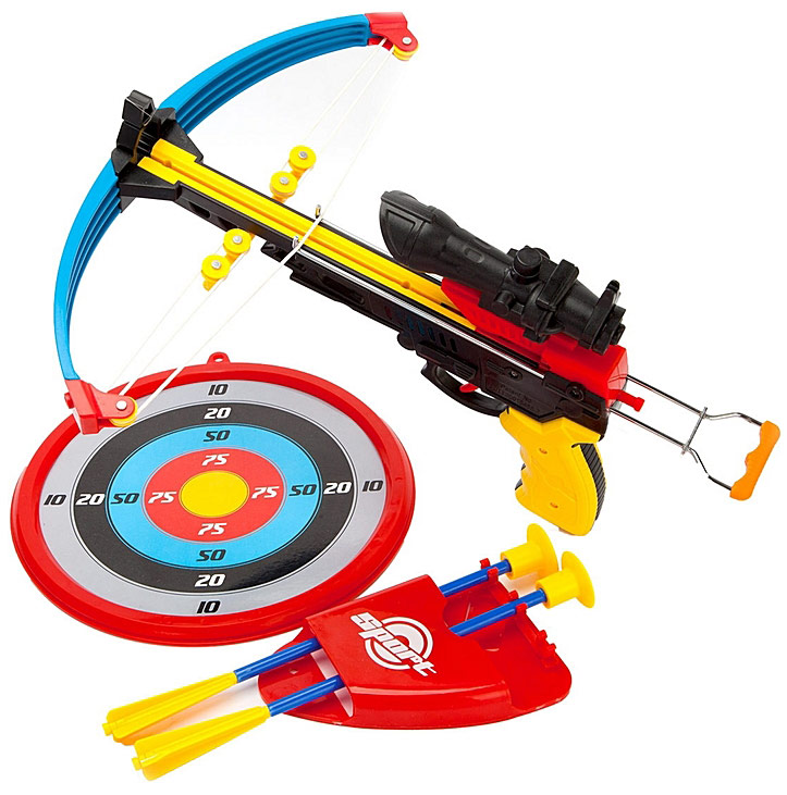 Toy Target Игровой набор Арбалет со стрелами 1 pair boxing training sticks target mma precision training sticks punching reaction target muay thai grappling jujitsu tools
