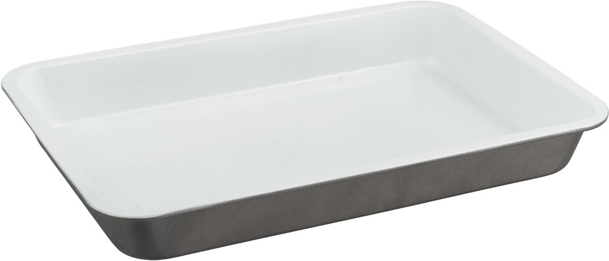 Форма для выпечки Доляна Прямоугольник. Флери, с керамическим покрытием, цвет: бежевый, 32 х 22 х 4 см1151883_бежевыйФорма для выпечки с керамическим покрытием — один из самых важных предметов на кухне хорошей хозяйки. С качественной посудой радовать домашних пирогами, кексами, запеканками и прочей вкуснятиной вы сможете хоть каждый день! Достоинства изделия: равномерно распределяет тепло по всей внутренней поверхности; предотвращает пригорание пищи; способствует ее быстрому приготовлению; обладает стильным внешним видом. Кроме того, предмет не впитывает запахов и позволяет легко вынимать готовый продукт. Прочный корпус защищает изделие от внешней деформации. Рекомендуется избегать перепадов температуры: ставьте форму только в холодную или теплую духовку. Не допускайте падений и не используйте высокоабразивные моющие средства (это защитит глазурь от сколов и царапин). Как выбрать форму для выпечки – статья на OZON Гид.