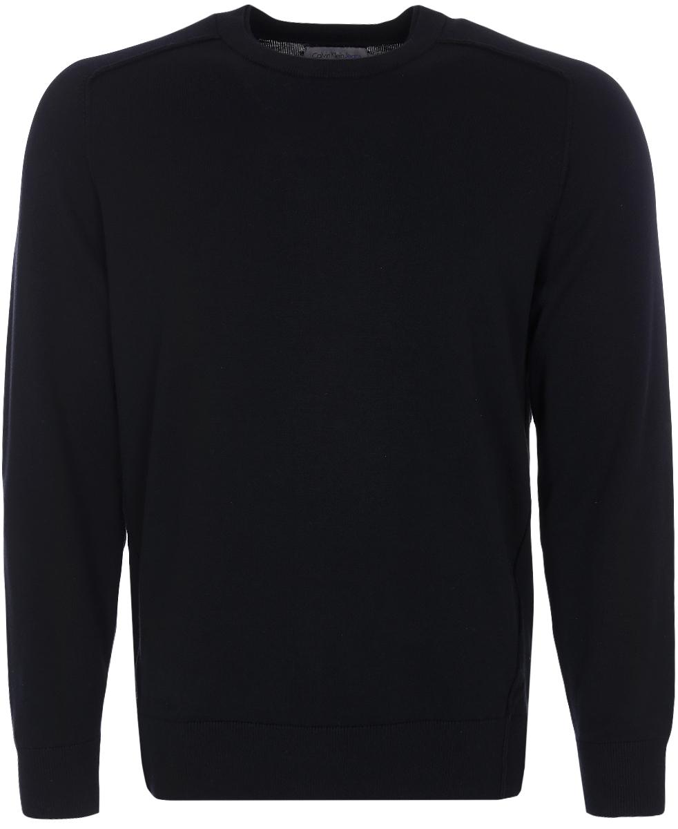 Купить Джемпер мужской Calvin Klein Jeans, цвет: черный. J30J306946_0990. Размер S (44/46)