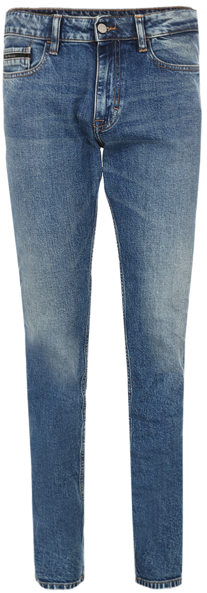 Джинсы мужские Calvin Klein Jeans, цвет: синий. J30J306712_9113. Размер 34-32 (52/54-32) джинсы мужские calvin klein jeans цвет синий j30j306636 9114 размер 30 44 46