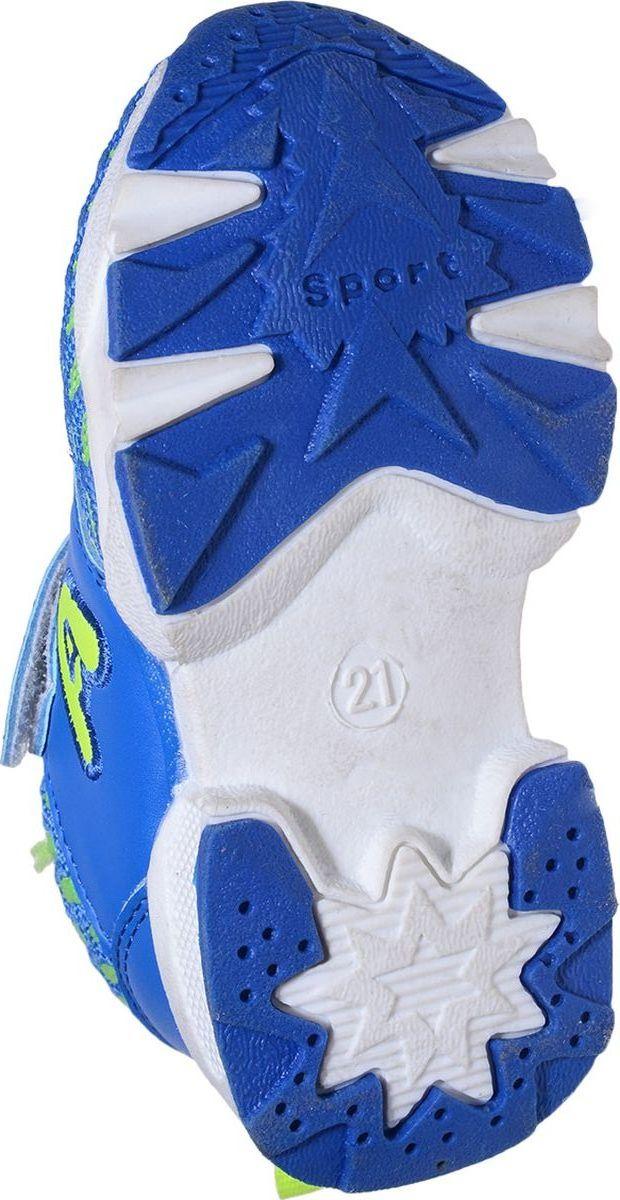 Кроссовки для девочки Мифер, цвет:  синий.  7705C.  Размер 23 Мифер