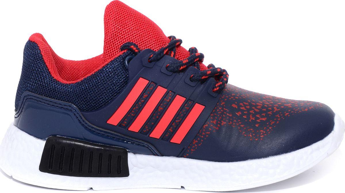 Кроссовки для мальчика Мифер, цвет: синий. 6712A. Размер 34 кроссовки для мальчика zenden цвет красный 219 33bg 043tt размер 34
