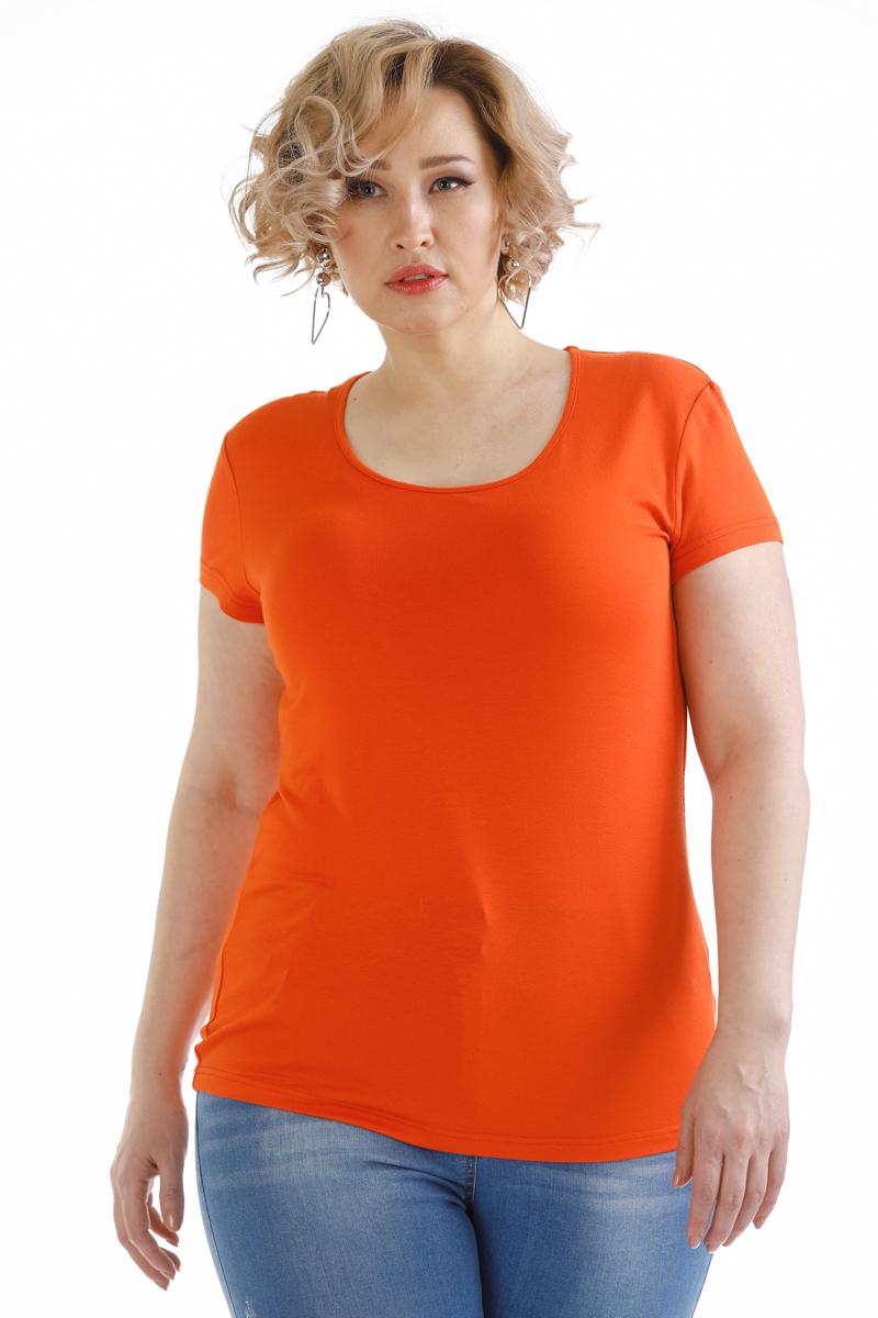 Блузка женская Averi, цвет: коралловый. 1440. Размер 64 (66) блузка женская averi цвет оранжевый 1440 размер 64 66