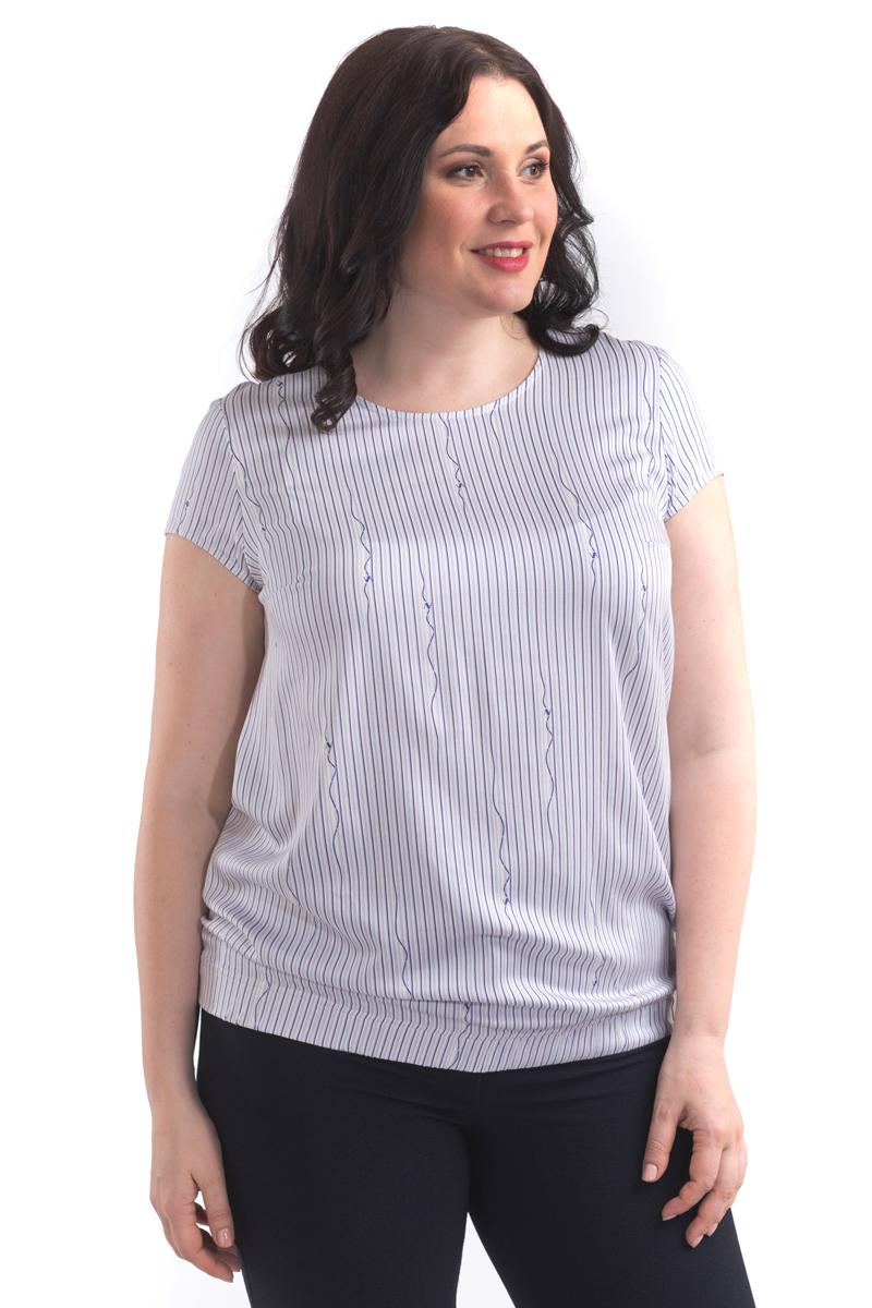 Блузка женская Averi, цвет: светло-розовый. 1451. Размер 64 (66) блузка женская averi цвет светло серый 1450 размер 64 66