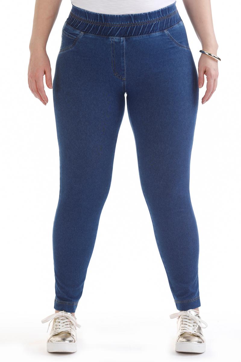 Брюки женские Averi, цвет: синий. 1442. Размер 64 (66) блузка женская averi цвет коралловый 1440 размер 64 66