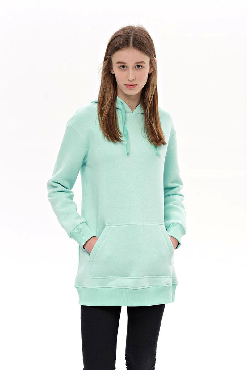 Худи женское Eniland, цвет: мятный. 27011804. Размер L (46)