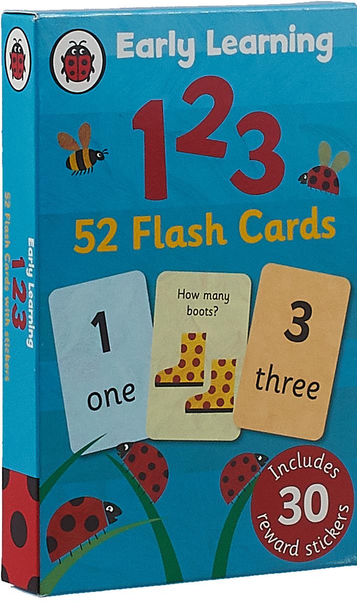 123 Flash Cards (набор из 52 карт) светильник потолочный дубравия полина 106 41 24 2