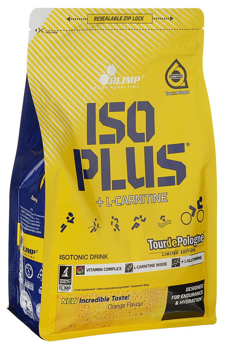 """Изотонический напиток Olimp Sport Nutrition """"Iso Plus Powder"""", апельсин, 1505 г"""