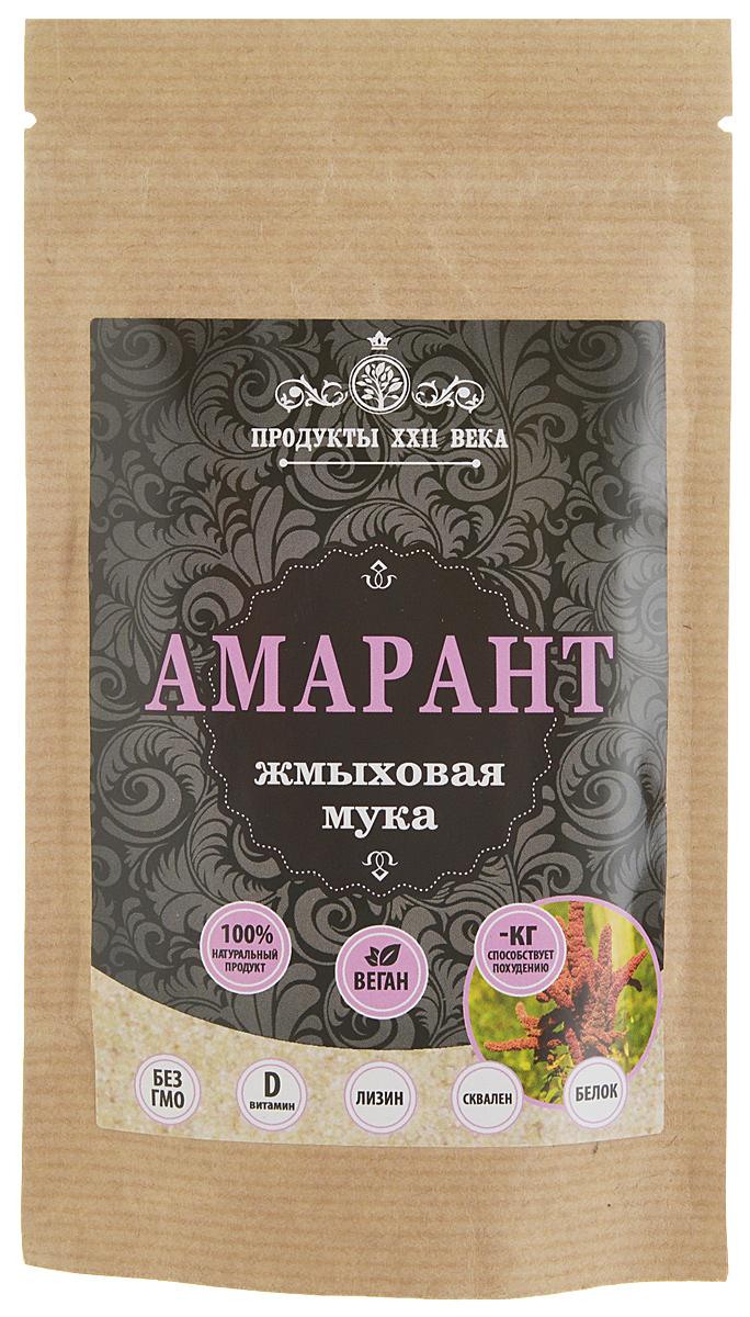 Продукты ХХII века мука амарантовая жмыховая, 100 г продукты ххii века мука бурого льна жмыховая высший сорт 200 г