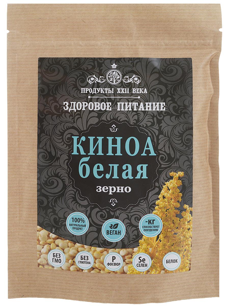 Продукты ХХII века киноа белая зерно, 200 г продукты ххii века мука киноа белая цельнозерновая высший сорт 400 г