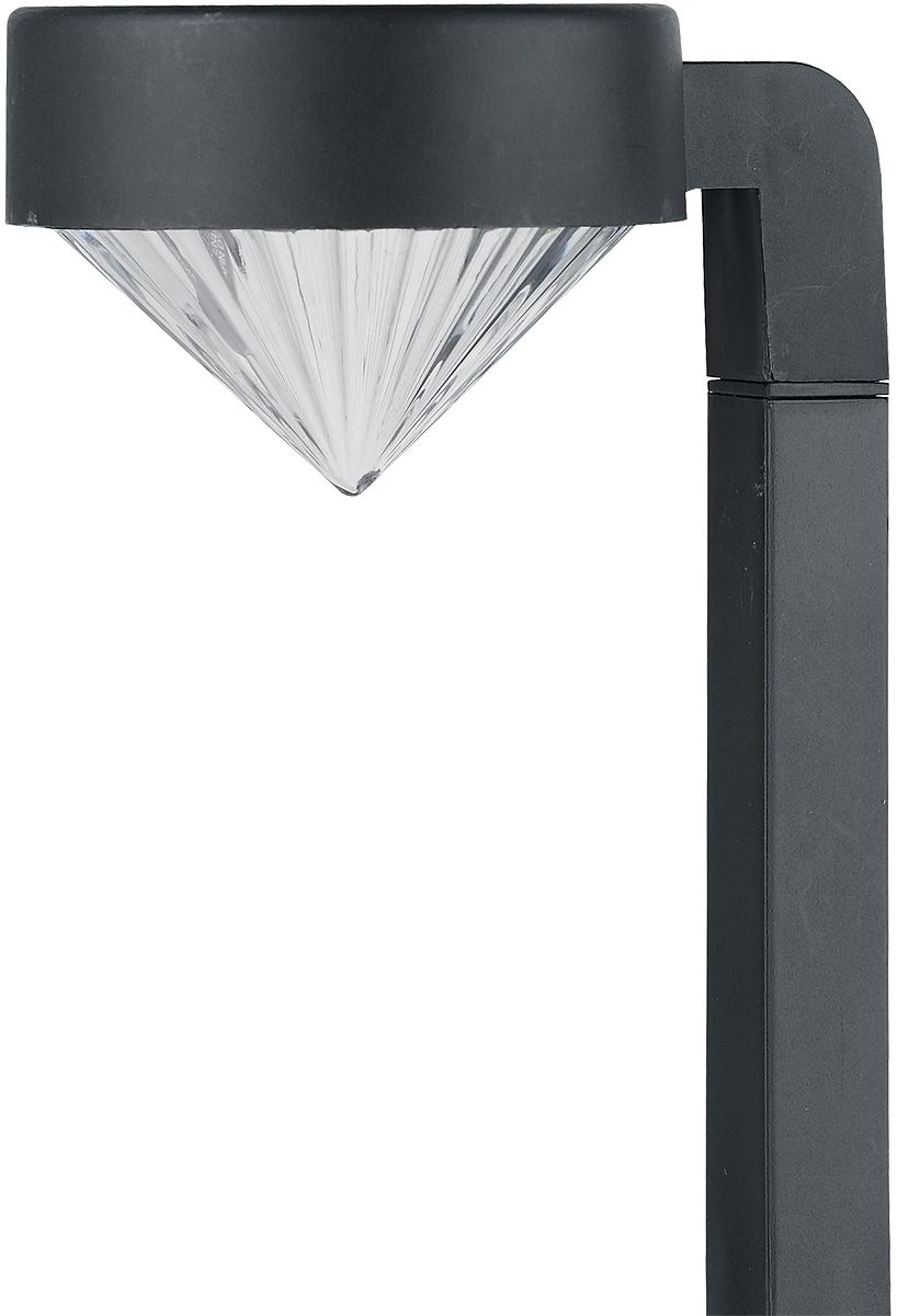 Пластиковый светильник оригинальной формы с вынесенной в сторону рифленым прозрачным плафоном в форме бриллианта. Благодаря такой форме свет распространяется вниз. Сверх яркий SMD светодиод 0,5Вт обеспечивает значительно более высокий по сравнению с обычными светодиодами световой поток.