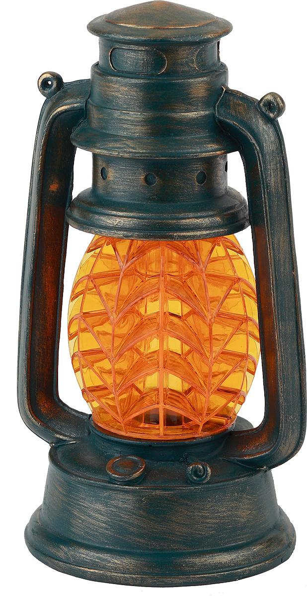 Светильник садовый ЭРА Электротовары Фонарь, на солнечной батарее, 21,3 см. SL-RSN23-LANT-OR фонарь эра kb 502