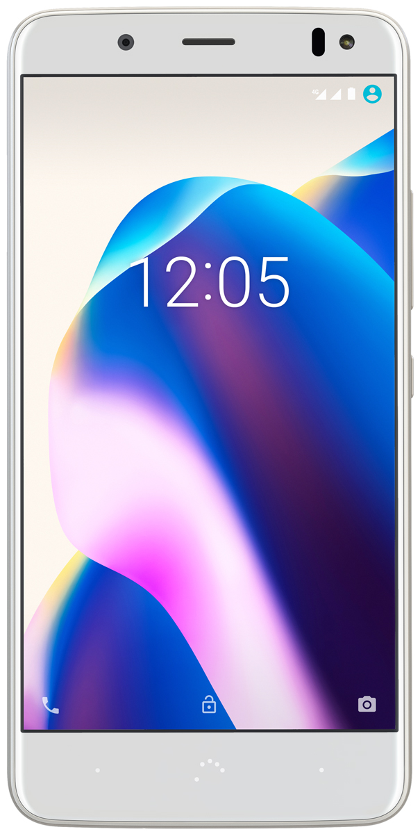 BQ Aquaris U2 Lite, White Gold