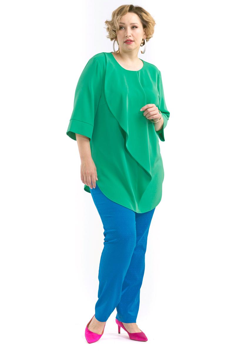 Блузка женская Averi, цвет:  зеленый.  1430.  Размер 60 (64) Averi