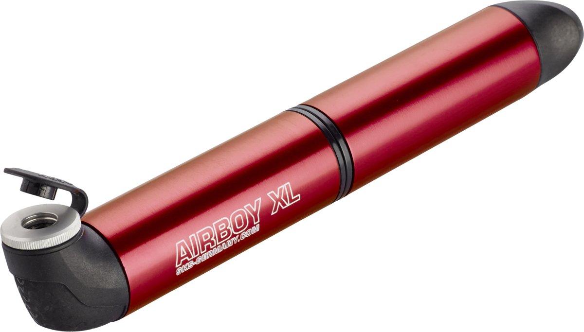 """Насос SKS """"Airboy XL"""", алюминиевый, 5 bar, цвет: красный"""