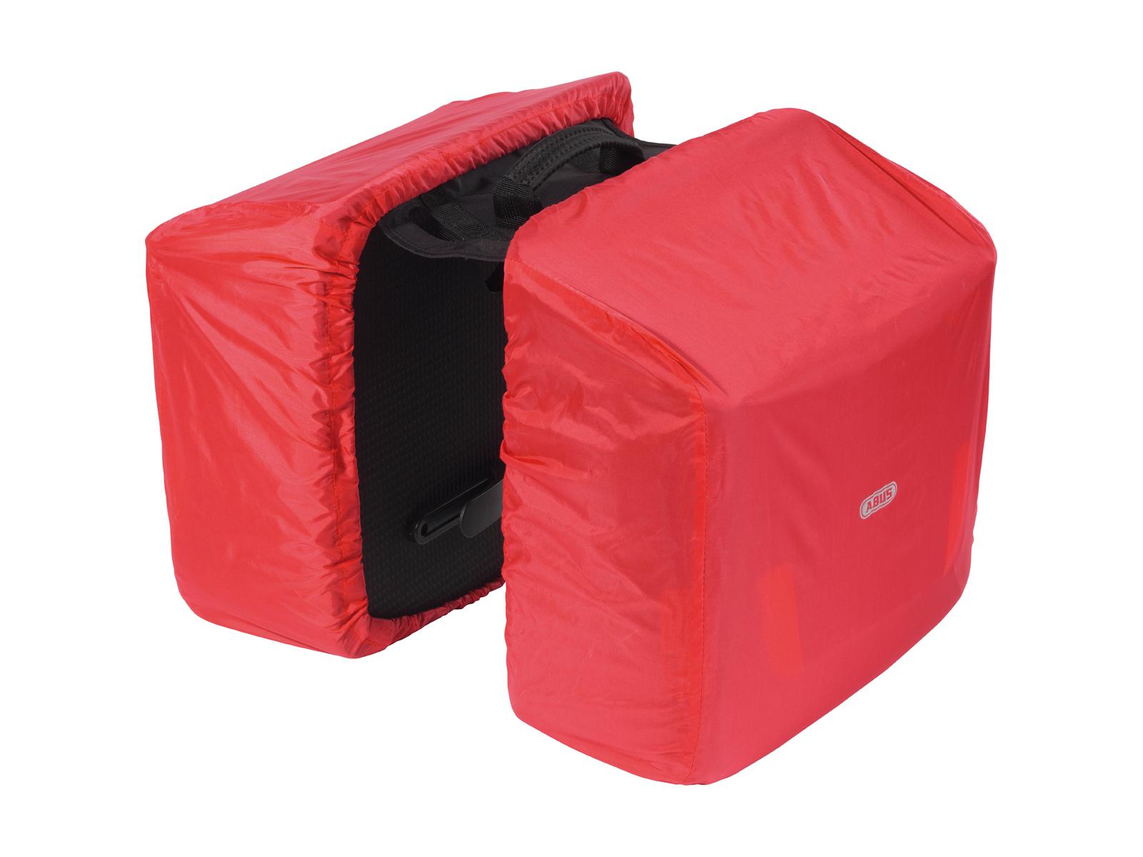 Велосипедная сумка-штаны на багажник. Два отделения объемом по 13 литров каждое. Размеры 34 х 32,5 х 15 см