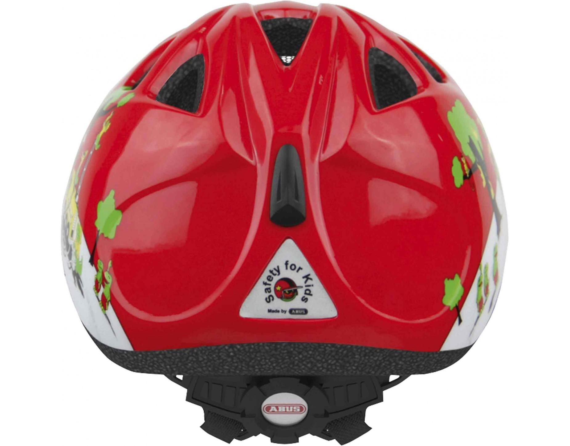 Качественный велосипедный шлем от немецкого производителя ABUS Smiley для детей. ZOOM- Точная регулировка шлема по размеру колесиком, защитная сетка от насекомых и веток, отражающие элементы для пассивной безопасности.