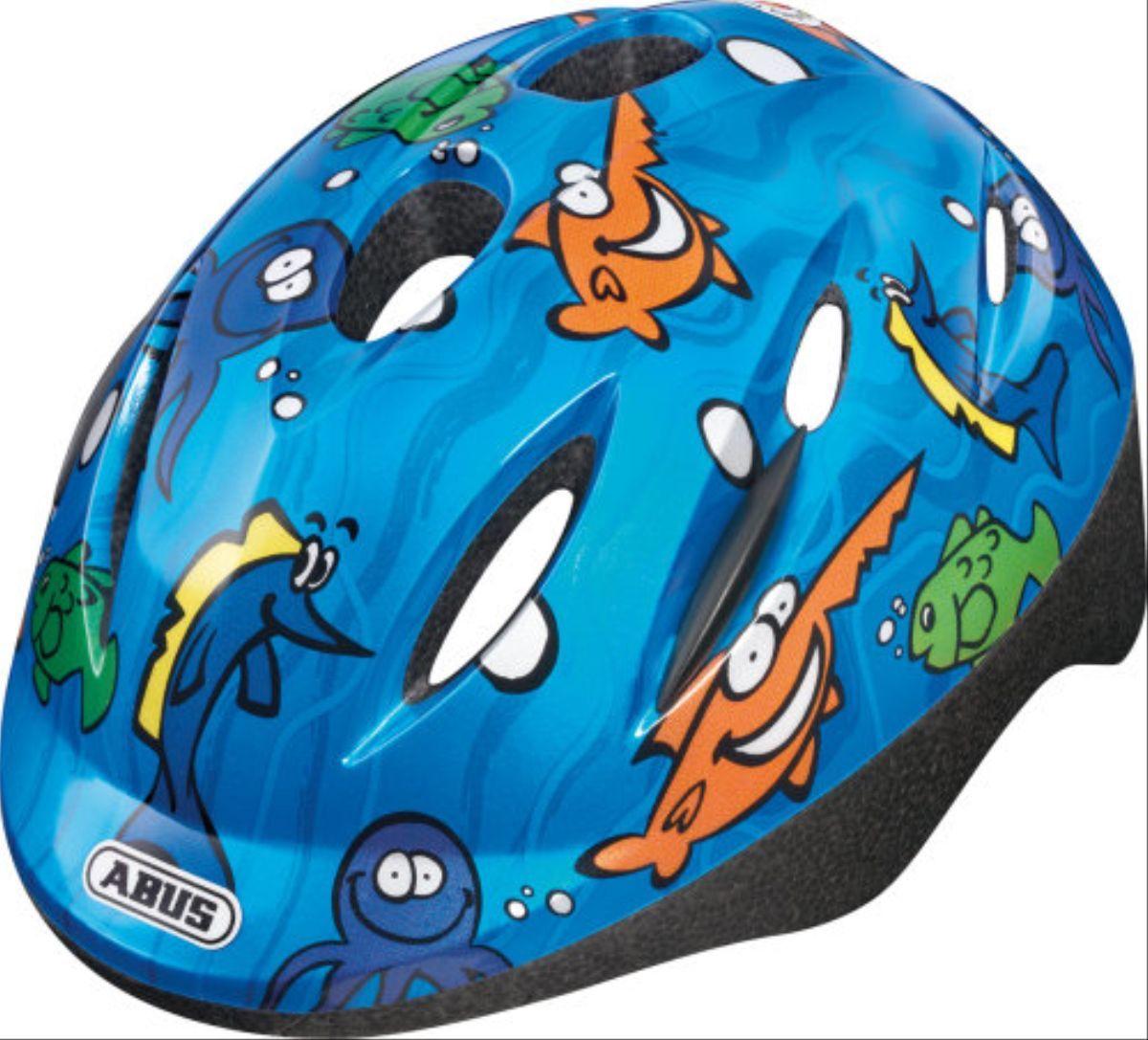Качественный шлем для детей от немецкого производителя ABUS SMOOTY. Отличается низким весом, хорошей вентиляцией и ярким дизайном при это обладая высокой прочностью для защиты ребенка от травм.