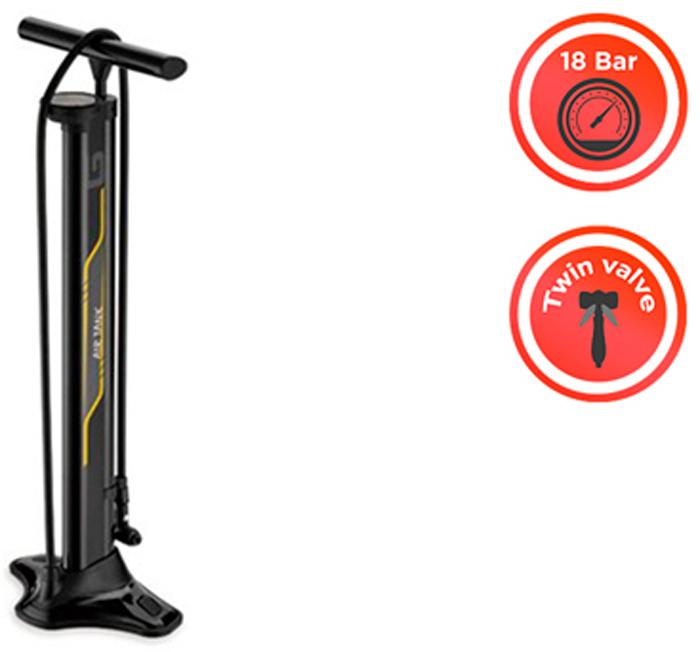 Насос велосипедный напольный Giyo GF-94T, металлический, 120 PCIGF-94TМатериал:алюминий, пластик Тип насоса:напольный Максимальное давление:8 бар Манометр:да Назначение:универсальный Вентиль:авто / вело Выносной шланг:да Цвет:черный Длина в сложенном состоянии:70 см