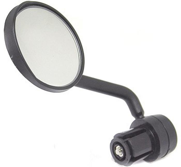 Зеркало левое в руль WEI JIA 168, для рулей с внутренним диаметром 19 мм зеркало косметическое mei le jia с 36 лампочками