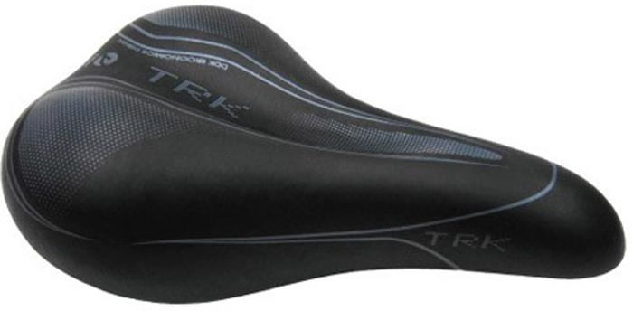 Седло велосипедное женское DDK D222, цвет: черный, серый